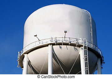 Water Tower - Water tank tower supply to town.