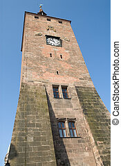 Nuremberg - a tower in city center of Nuremberg, Bavaria,...