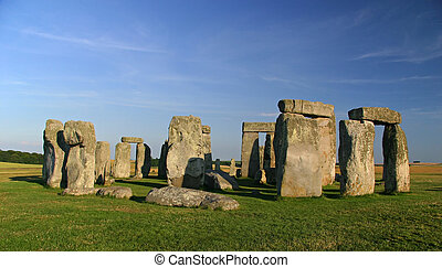 Stonehenge - Mysterious stone formation in england