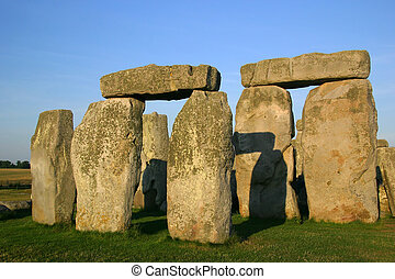 Stonehenge - Mysterious stone formation in england.