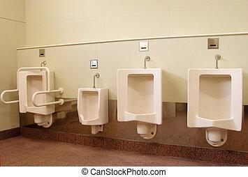 Men\\\'s toilet - Public men\\\'s toilet aspect