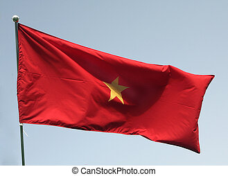 Vietnamese flag - The flag of Vietnam