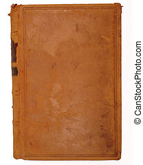 old tome 2 - front of a book with leather binding