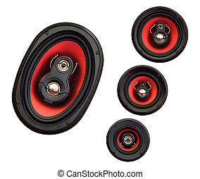 Auto sound loud speaker system - Auto audio system loud...