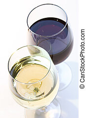 Wine Glasses - White Wine and Red Wine