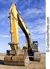 Earth mover - Large earth mover