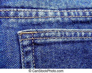 blå,  jeans, specificera