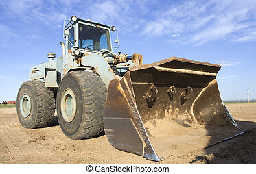 Front end loader - Heavy loader at the work place