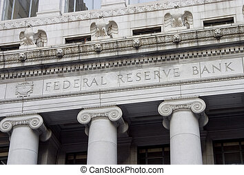 Federal Reserve Facade 1 - The facade of the Federal Reserve...