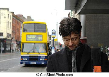 Man in Dublin