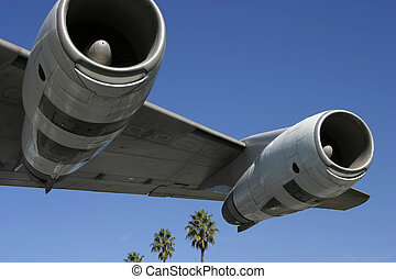 Jet Engines and Palms 2