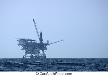 Offshore Drilling Platform - An offshore drilling platform