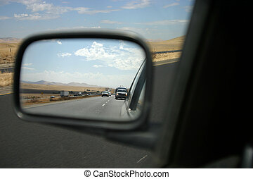 View of the Rearview 2 - Driver-side perspective of the...