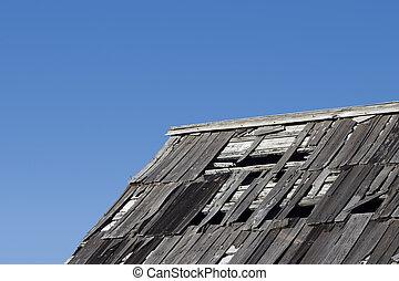 Weatherd Roof 2