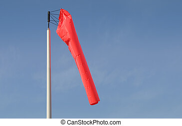 Windsock - A windsock lets us know where it's coming from....