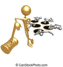 Whack A Dummy - Concept & Presentation Figure 3D