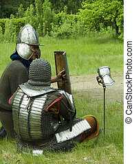 Two Knights - Knighthood in medieval Rus