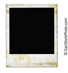 Aged Polaroid - Aged polaroid