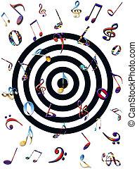 colorito, musica