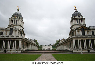 Royal naval college, Greenwich, London