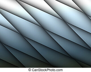 Abstract pattern with round lines in soft blue shades