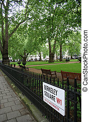Berkeley Square, mayfair, London