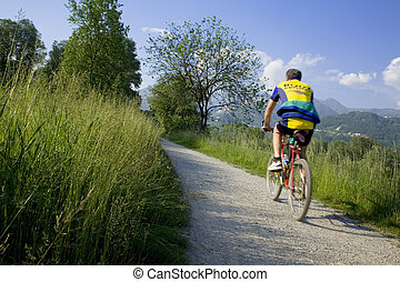 bycicles04 - biking in the country