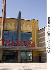 映画, 劇場, 印