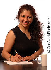 business executive - successful hispanic business woman