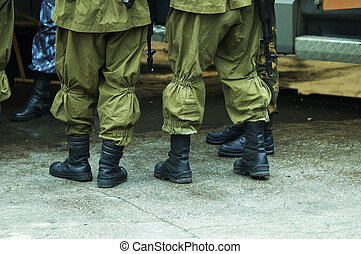 riot squad - army (special photo f/x,focus on the boots)