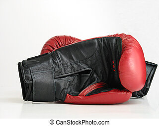 boxing gloves - pair of boxing gloves