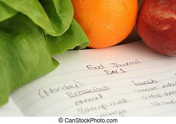 nourriture, journal