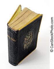 bible - old black bible