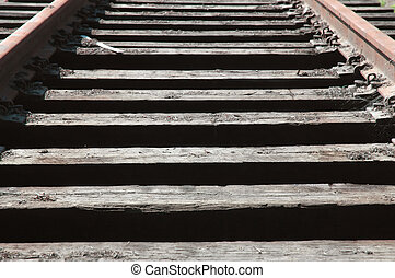 RailRoad Ties & Tracks - Old RailRoad Ties & Rails