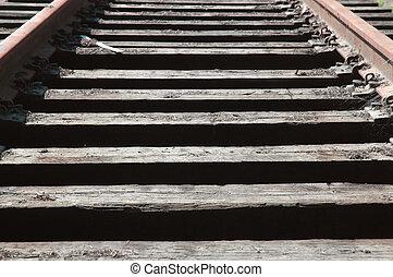 RailRoad Ties & Tracks - Old RailRoad Ties & Rails
