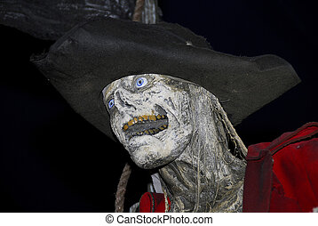 Pirate - Photo of a Pirate Skeleton