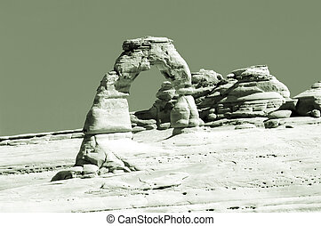 Delicate Arch in sep