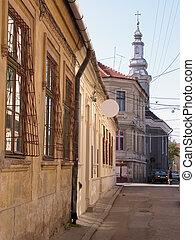 Old little backstreet - Old little street in Cluj...