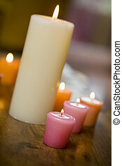 Candles - candles on a table