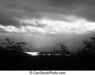 Approaching Storm - Afternoon Storm in Patagonia