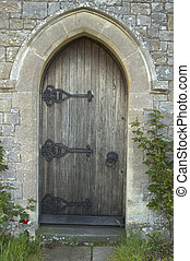 iglesia, puerta