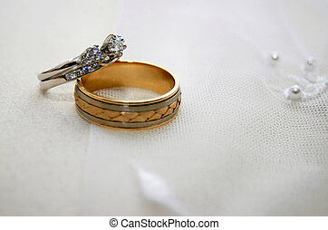 Wedding Background 7633 - wedding rings