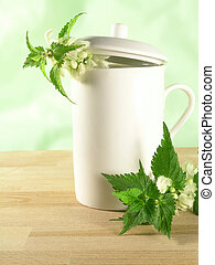 herbal tea - nettle - OLYMPUS DIGITAL CAMERA herbal tea...