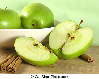 green apple - big green apple