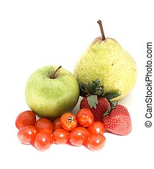 fruit and veg #5 - isolated fruit and vegetables