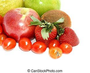 fruit and veg #4 - isolated fruit and veg