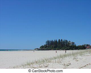 Coolangatta Beach - The famous Coolangatta Beach on the East...