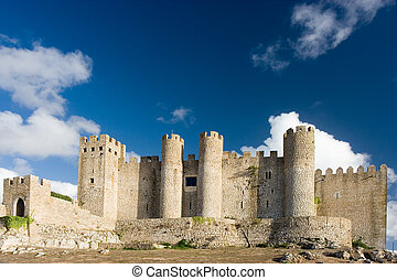 Castle - Ancient Castle in Obidos, Portugal