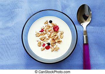 petit déjeuner, céréale