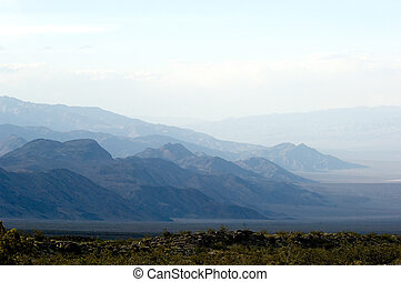 Mystic mountains - Death Valley national park, California